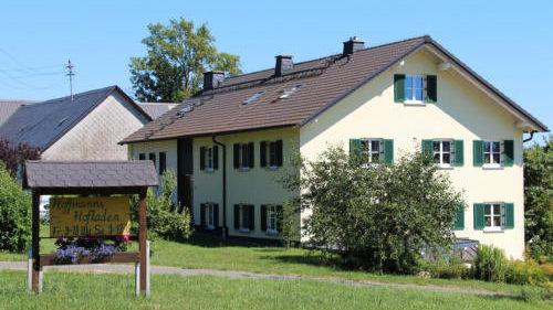 Außenansicht von Hoffmann's Hofladen in Wölbersbach